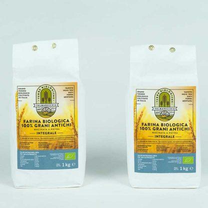 Farina integrale Bio mix grani antichi