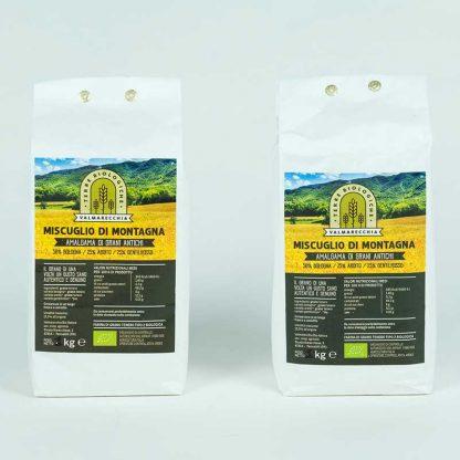 Farina tipo 1 Miscuglio di Montagna Bio mix grani antichi