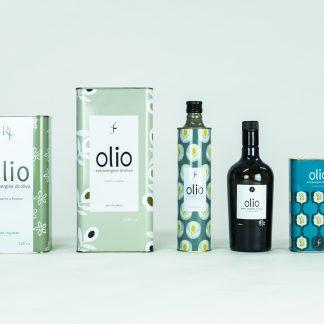 olio extravergine di oliva estratto a ferro